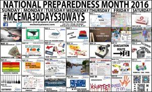 Preparedness Calendar handout 2